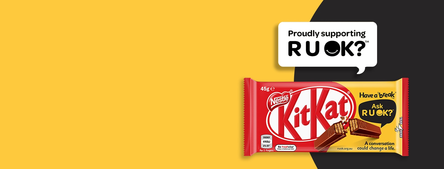 Have a Break®. Ask RUOK?