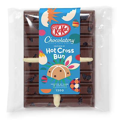 KitKat Chocolatory Creations Hot Cross Bun