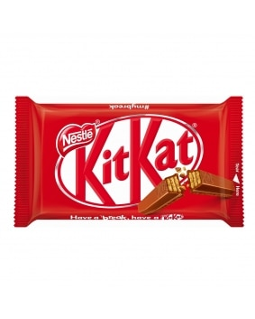KitKat Milk 4 Finger Bar Front of Pack