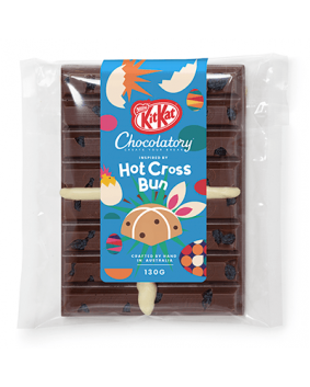 kitkat hot cross bun