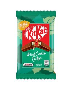 KitKat 4F Mint Cookie Fudge Chocolate Bar 45g