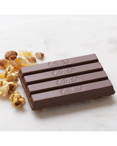 KitKat Chocolatory Special Edition  Sticky Caramel Popcorn & Almond Brittle