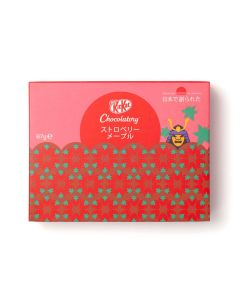 KitKat Chocolatory Created In Japan ストロベリーメープル (Taste of Strawberry & Maple)