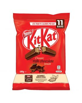 KitKat 2 Finger Milk Chocolate 11 Piece Bag 185g