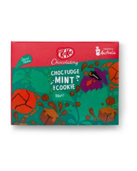 Special Edition Choc Fudge Mint & Cookie 55g