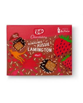 KitKat Chocolatory Special Edition Reimagined Aussie Lamington 60g