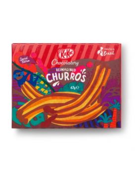 KitKat Chocolatory Special Edition Churros 67g