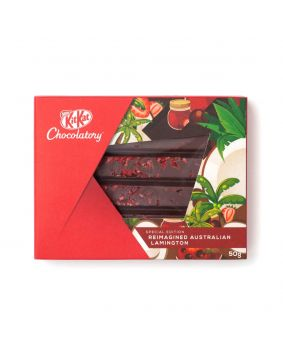 KitKat Chocolatory Special Edition  Reimagined Australian Lamington