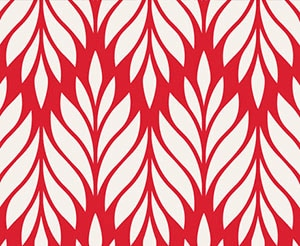 Red White Pattern